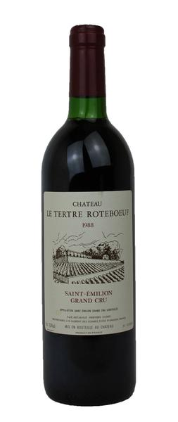 Chateau LeTertre Roteboeuf, 1988